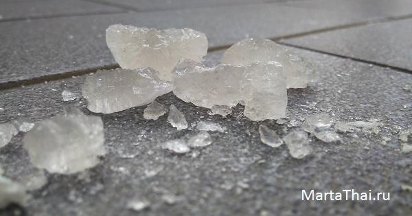 тайский минеральный дезодорант кристалл из таиланда