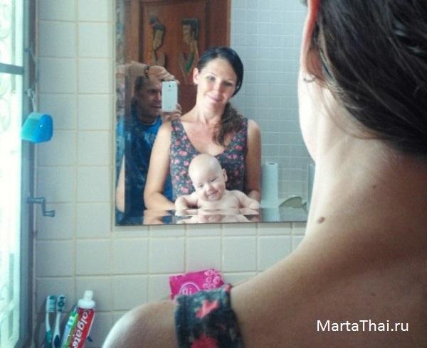 Высаживание ребенка - наше доброе и трудное начало