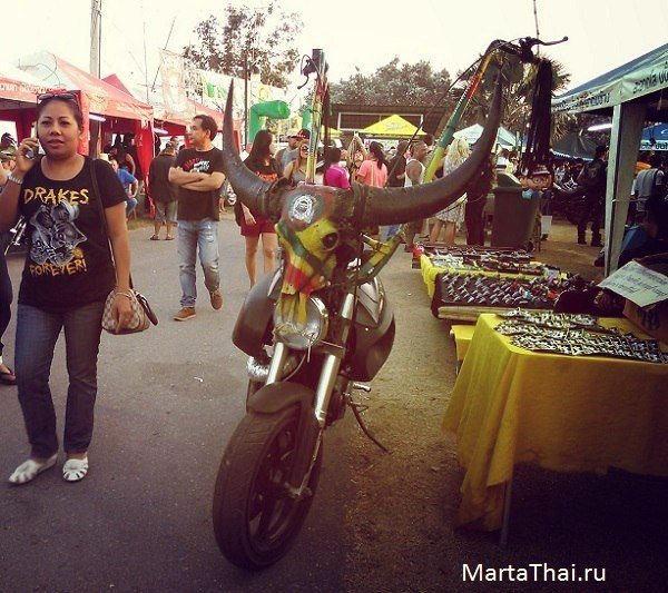 Burapa Pattaya Bike Week