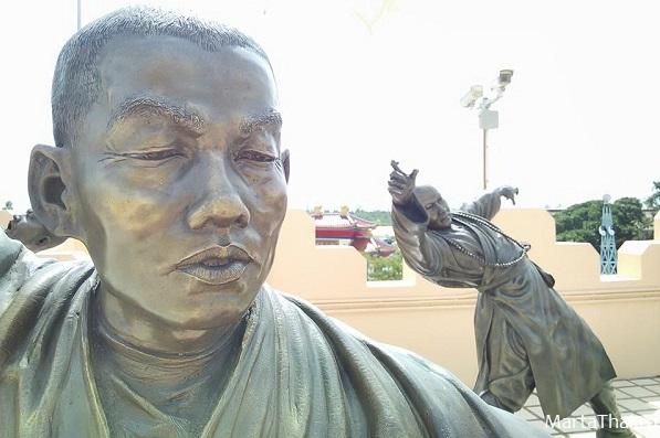 китайский храм в Паттайе, музей буддизма Тхеравады