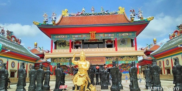 Китайский храм и музей буддизма Тхеравады в Паттайе