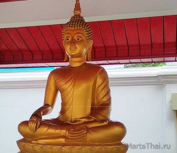 Будда зовет богиню Земли