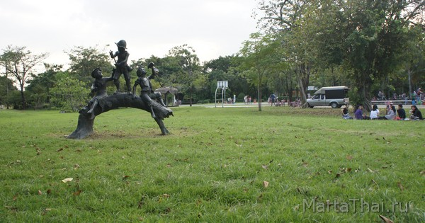 Парк в Бангкоке Queen Sirikit Park