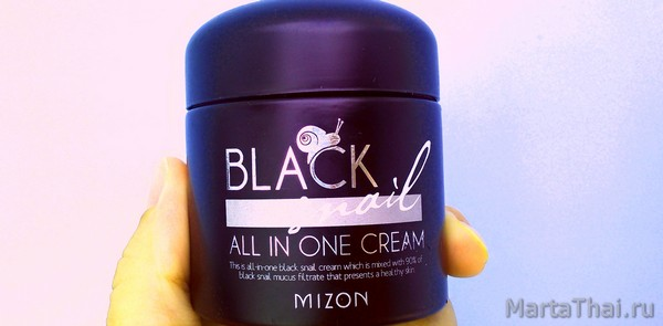 Mizon Black Snail all in one