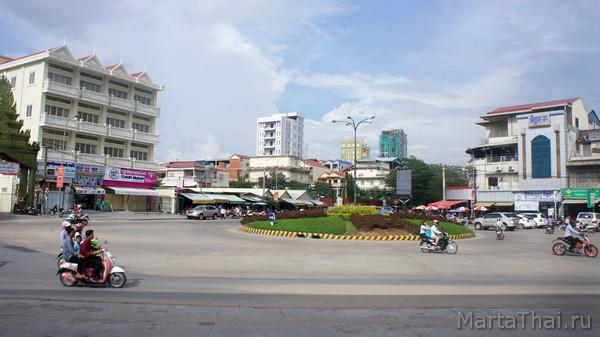 Как добраться в Пномпень из Сиануквиля