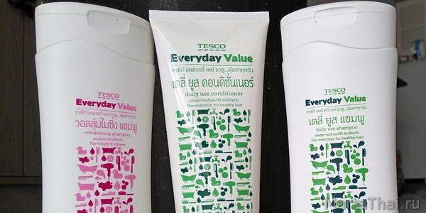 Tesco Lotus: шампунь, кондиционер и мыло