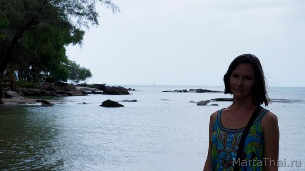 Секретный пляж в Сиануквиле