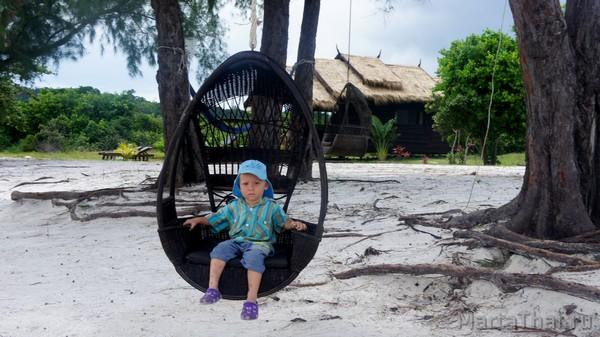 Остров Кох Ронг, Камбоджа