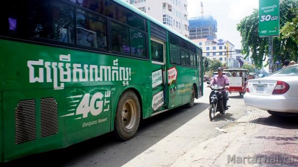 Пномпень столица Камбоджи экскурсии билеты отели достопримечательности