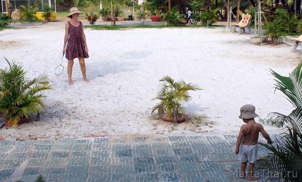 Игры с детьми на пляже