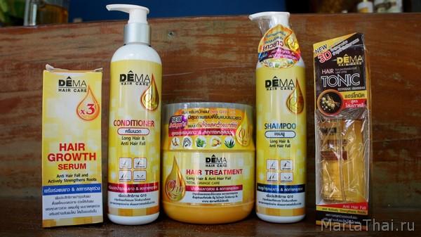 как ускорить рост волос на голове Dema отзывы