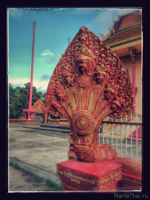 буддийская пагода Wat Ream