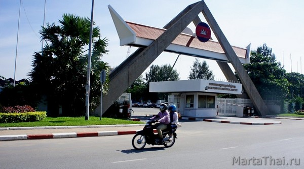 аэропорты Камбоджи