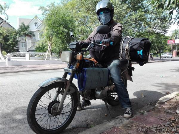 на мотоцикле по Вьетнаму