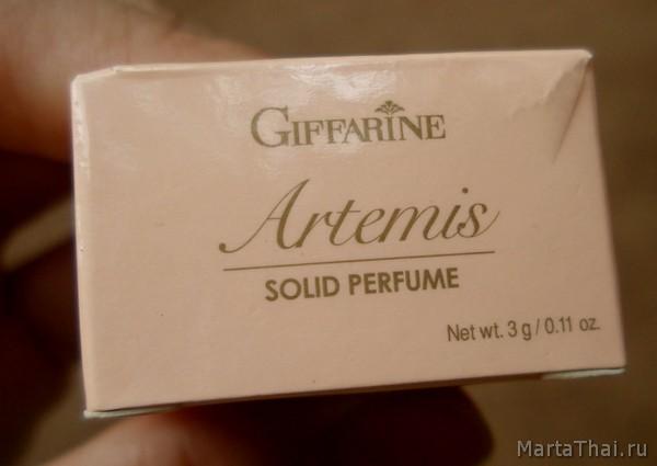 твердые сухие духи крем с феромонами Giffarine Solid Perfume